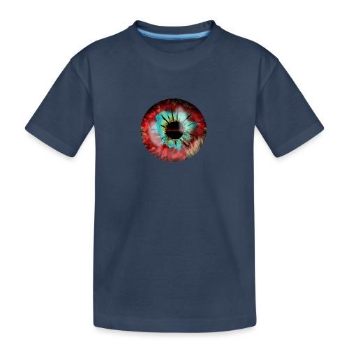 Silverline Auge - Teenager Premium Bio T-Shirt