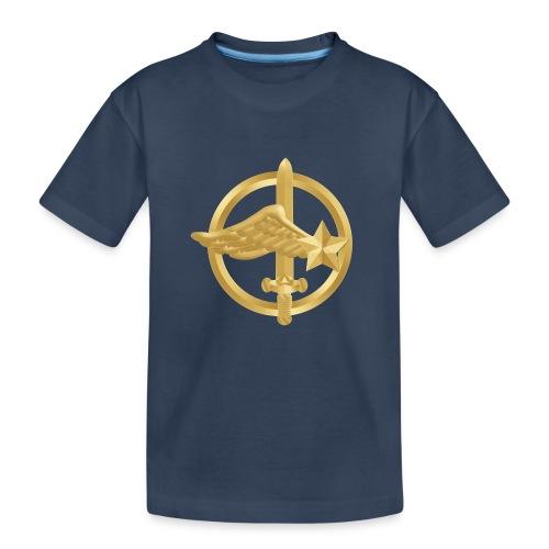 Tasse Fusiliers Commandos de l'Air - T-shirt bio Premium Ado