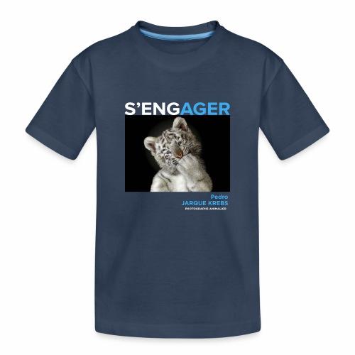 1 Achat = 1 Don à l'association Rainfer - T-shirt bio Premium Ado