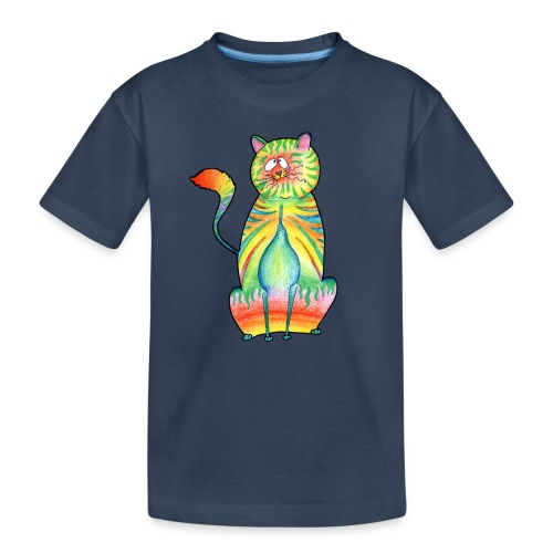 LEO,s CAT - Teenager Premium Bio T-Shirt