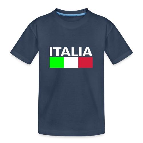 Italia Italy flag - Teenager Premium Organic T-Shirt