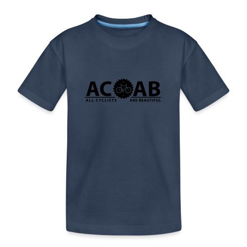 ACAB All Cyclists Are Beautiful T-Shirts - Teenager Premium Bio T-Shirt