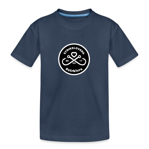 StrikeLovers Circle Vector - Teenager Premium Bio T-Shirt