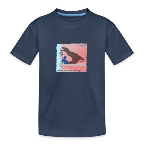 Woofra's Design Heritage - Teenager Premium Organic T-Shirt