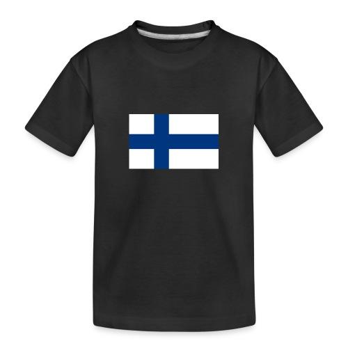 800pxflag of finlandsvg - Teinien premium luomu-t-paita