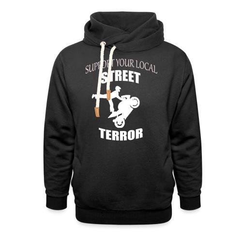 Streetterror Support - Unisex huivikaulus huppari