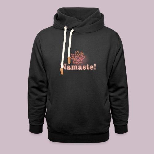 NAMASTE - Luvtröja med sjalkrage