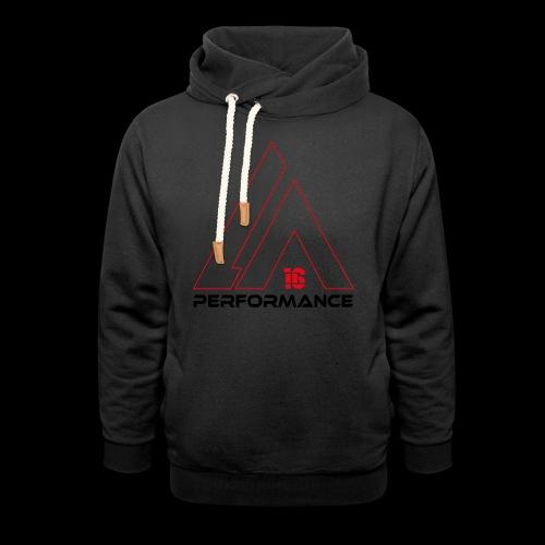 LA Performance red/black - Schalkragen Hoodie