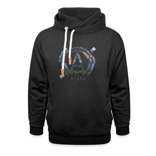 AlphaOfficial Logo T-Shirt - Shawl Collar Hoodie