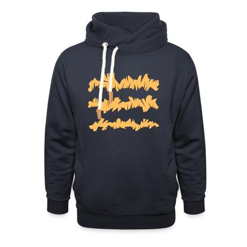 Orange_Sample.png - Unisex Schalkragen Hoodie