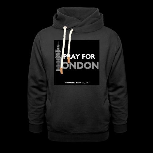 PRAY FOR LONDON - Sweat à capuche cache-cou