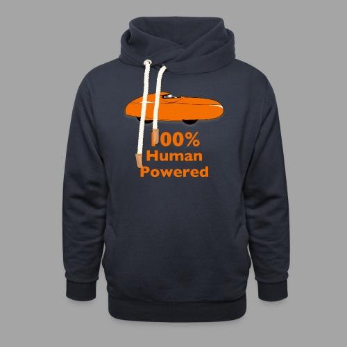 100% human powered - Huivikaulus huppari