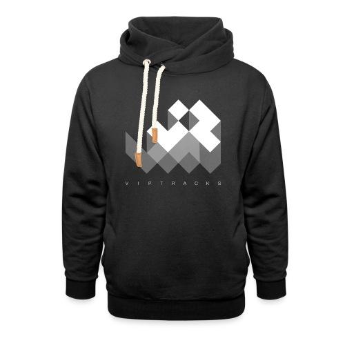 LOGO VIPTRACKS RELEASES - Unisex sjaalkraag hoodie
