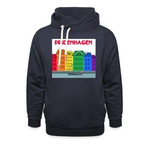 PRIDENHAGEN RETRO T-SHIRT - Unisex hoodie med sjalskrave