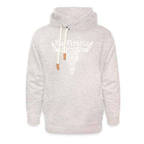 LaBestiaWhite png - Unisex sjaalkraag hoodie