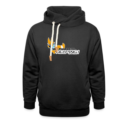 Set Phasers to Helping - Shawl Collar Hoodie
