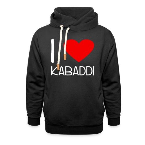 Kabaddi Kabadi Sportart India Südasien Shirt Gesch - Schalkragen Hoodie