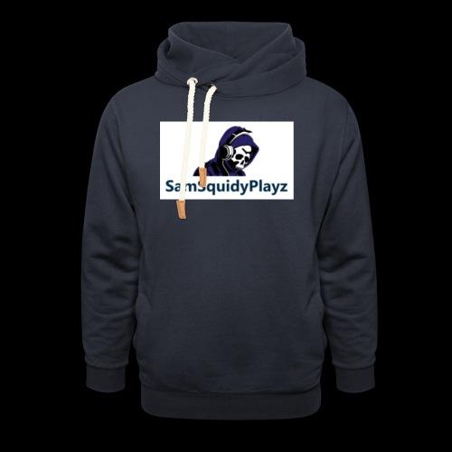 SamSquidyplayz skeleton - Shawl Collar Hoodie