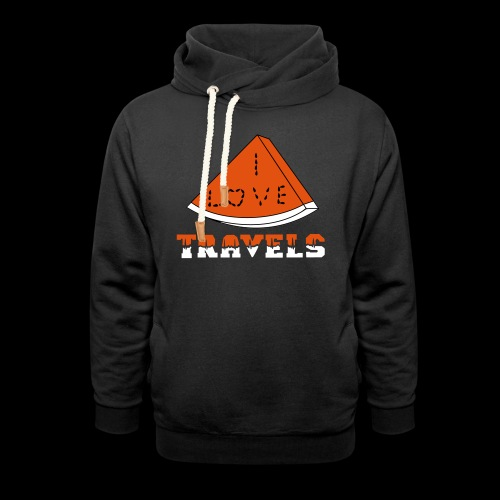 I LOVE TRAVELS FRUITS for life - Shawl Collar Hoodie