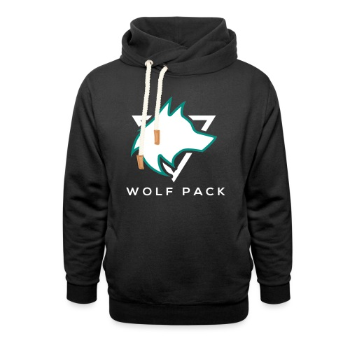 Wolf Pack Logo (NEW) - Shawl Collar Hoodie