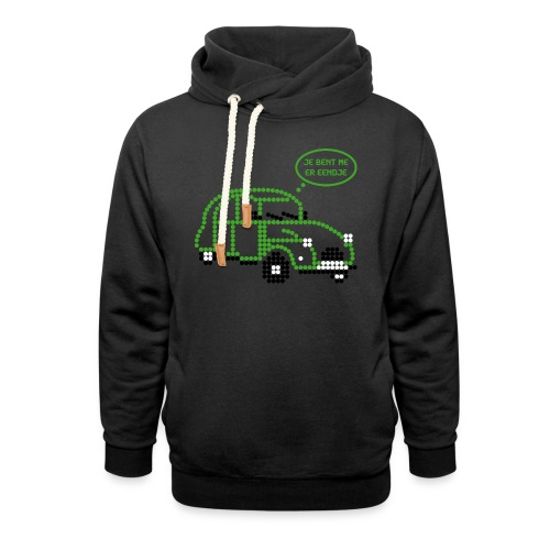 eendje.png - Sjaalkraag hoodie
