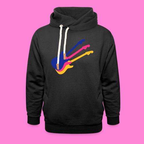 Good guitar black - Sjaalkraag hoodie