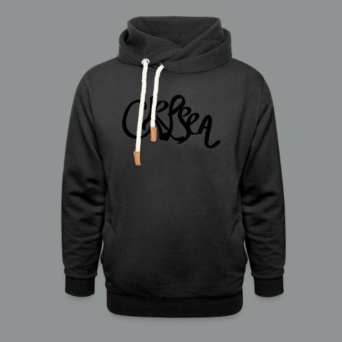 Kinder/ Tiener Shirt Unisex (rug) - Unisex sjaalkraag hoodie