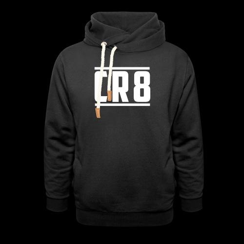 CR8 Hoodie - Black - Unisex Shawl Collar Hoodie