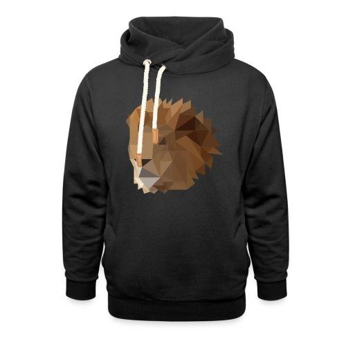 Löwe - Schalkragen Hoodie