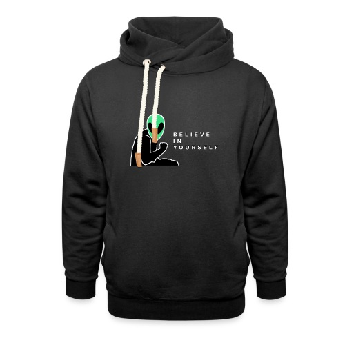 Believe In Yourself - Unisex Shawl Collar Hoodie