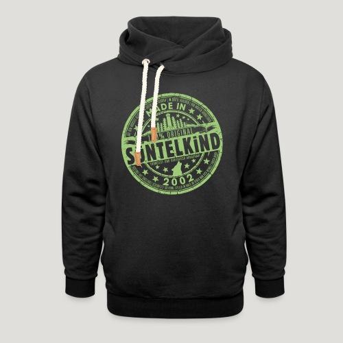 SÜNTELKIND 2002 - Das Süntel Shirt mit Süntelturm - Unisex Schalkragen Hoodie
