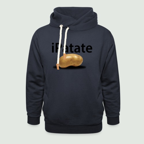 iPatate - Sweat à capuche cache-cou