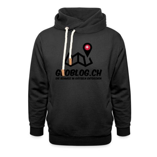 Logo+Schriftzug-hoch - Unisex Schalkragen Hoodie