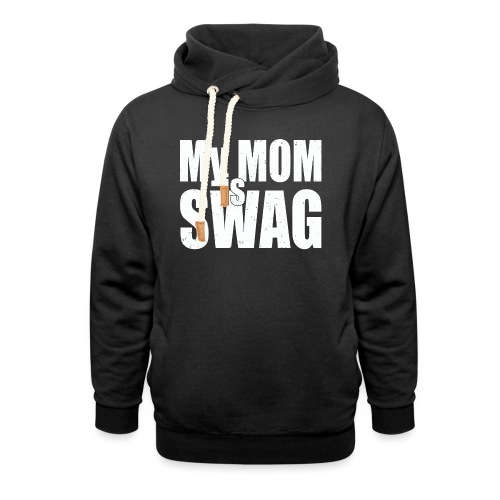 Swag White - Sjaalkraag hoodie