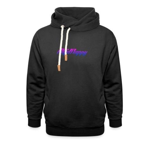 T-shirt AltijdFlappy - Unisex sjaalkraag hoodie