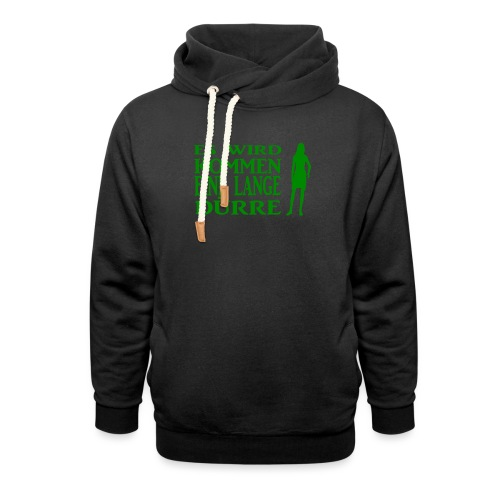 T-Shirt Dürre - Schalkragen Hoodie