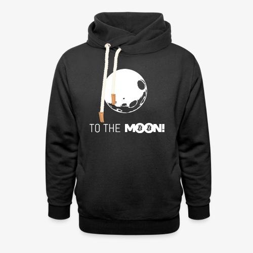 HODL-moonbtc-w - Shawl Collar Hoodie