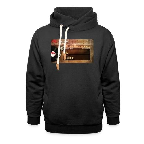 T.N.G. - X.T.C. Reality - Unisex sjaalkraag hoodie
