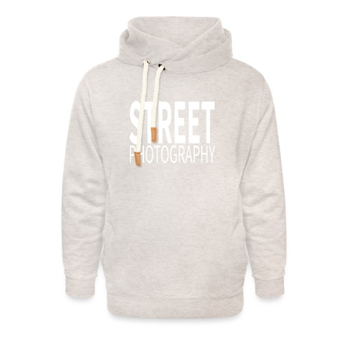 Street Photography T Shirt - Felpa con colletto alto unisex