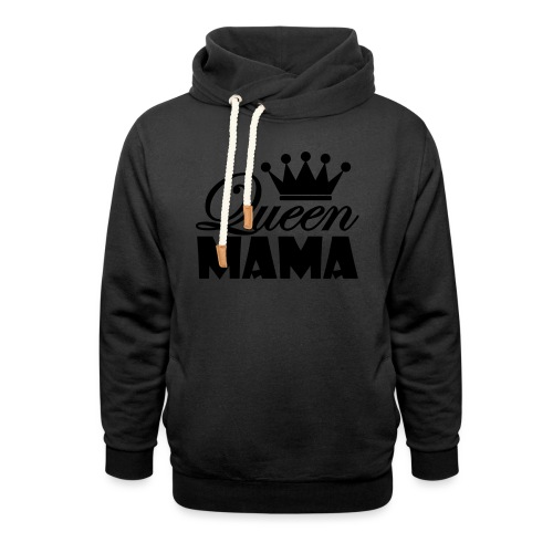 queenmama - Schalkragen Hoodie
