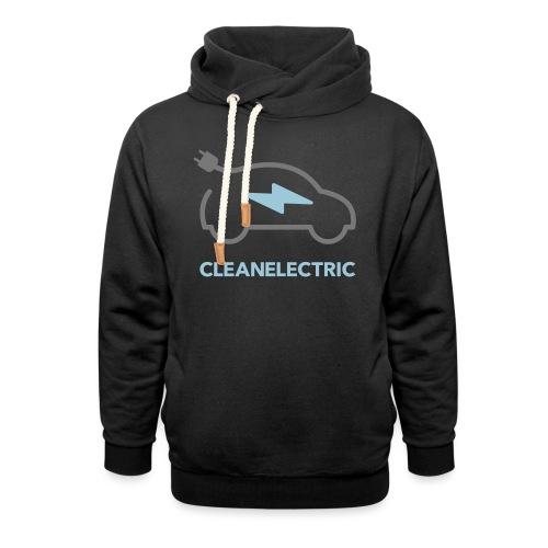 CLEANELECTRIC Logo - Unisex Schalkragen Hoodie