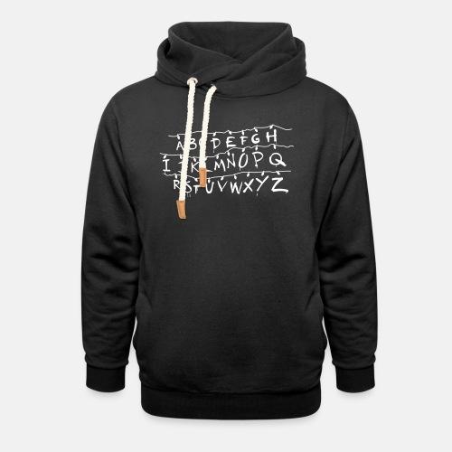Stranger Things Alphabet T-Shirts - Unisex Shawl Collar Hoodie