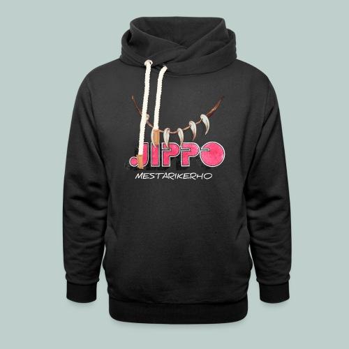 jippomestari_pink - Huivikaulus huppari