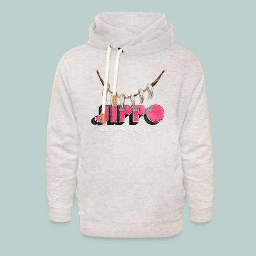 jippomestari_pink - Unisex huivikaulus huppari
