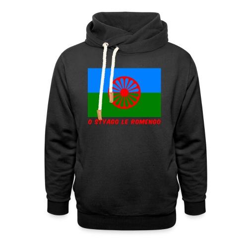 o styago le romengo flag of romani people t-shirt - Felpa con colletto alto unisex