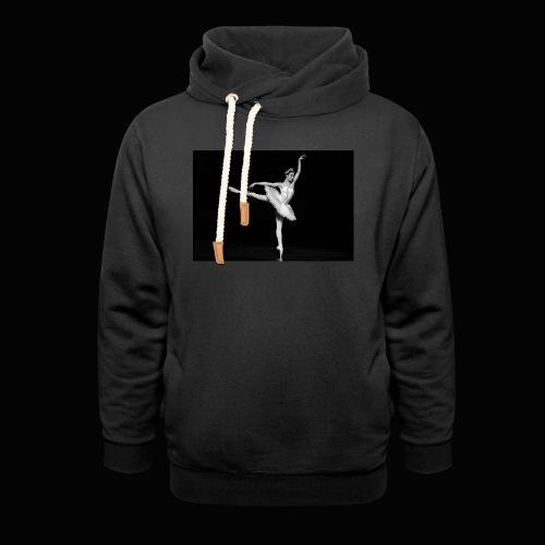 Royal Danish Warrior - Unisex hoodie med sjalskrave