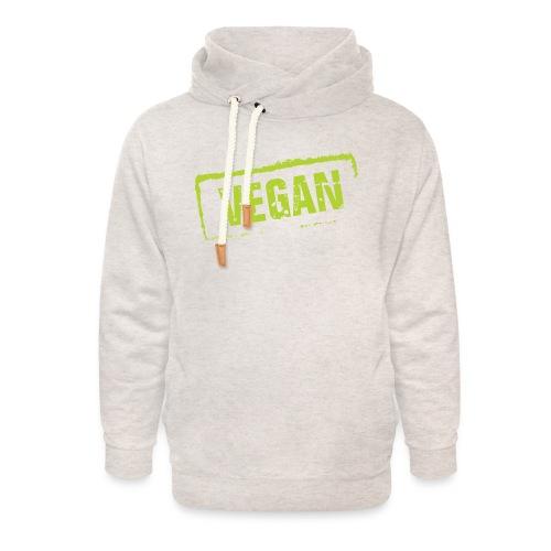 Vegan - Unisex sjaalkraag hoodie