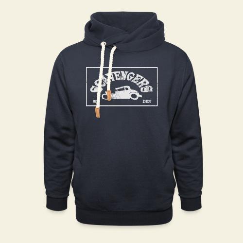 scavengers1 - Hoodie med sjalskrave