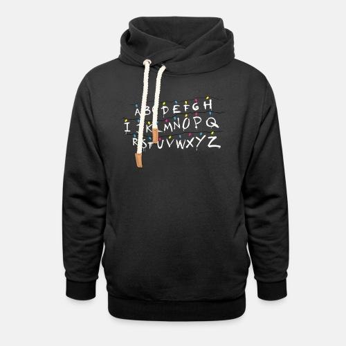 Stranger Things Alphabet - Unisex Shawl Collar Hoodie