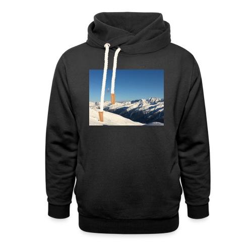 bergen - Sjaalkraag hoodie